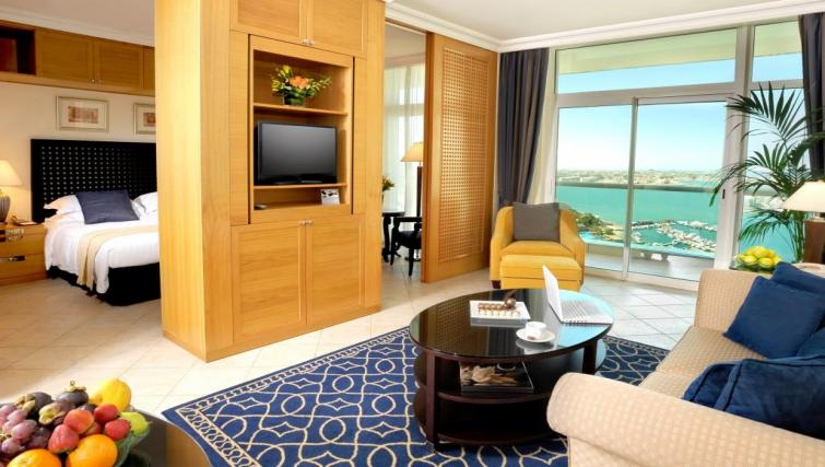 Living area at Beach Rotana All Suites - Citybase Apartments