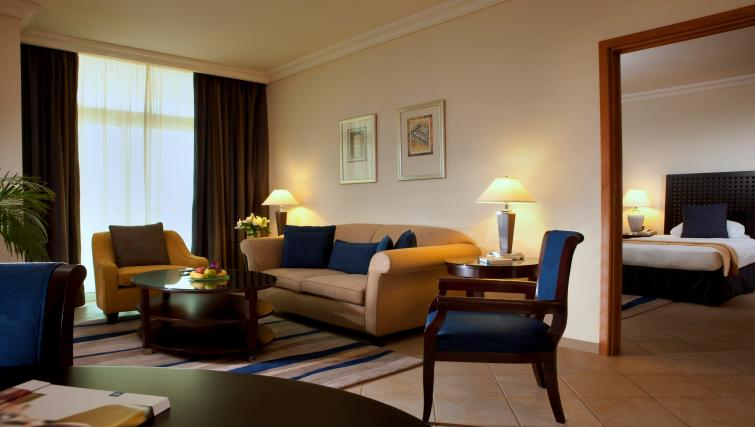 Lounge at Beach Rotana All Suites - Citybase Apartments
