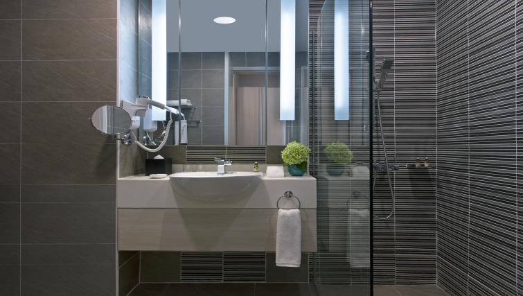 Bathroom at Somerset Puteri Harbour Apartments - Citybase Apartments