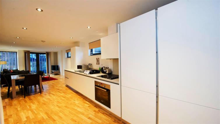 Kitchen at Flying Butler London Bridge Apartments - Citybase Apartments