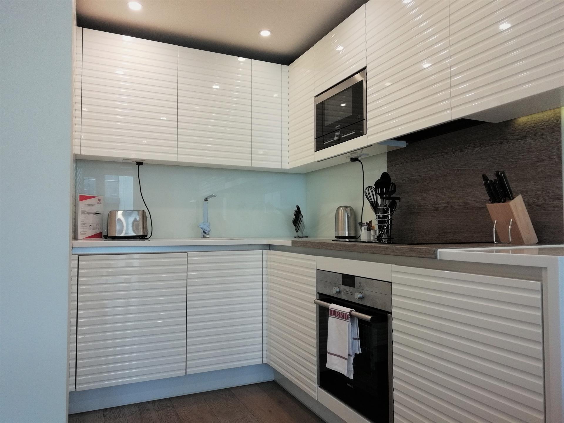 Kitchen at Still Life Clerkenwell Deluxe - Citybase Apartments