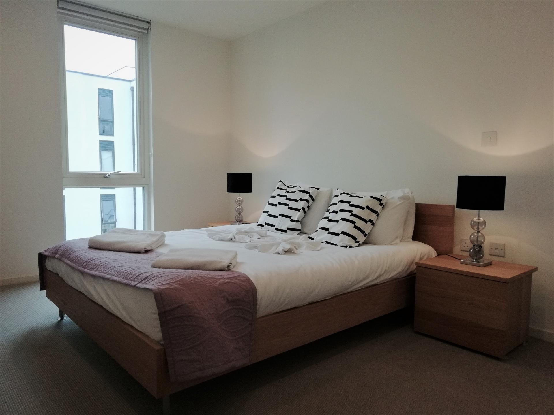 Bedroom at Still Life Clerkenwell Deluxe - Citybase Apartments