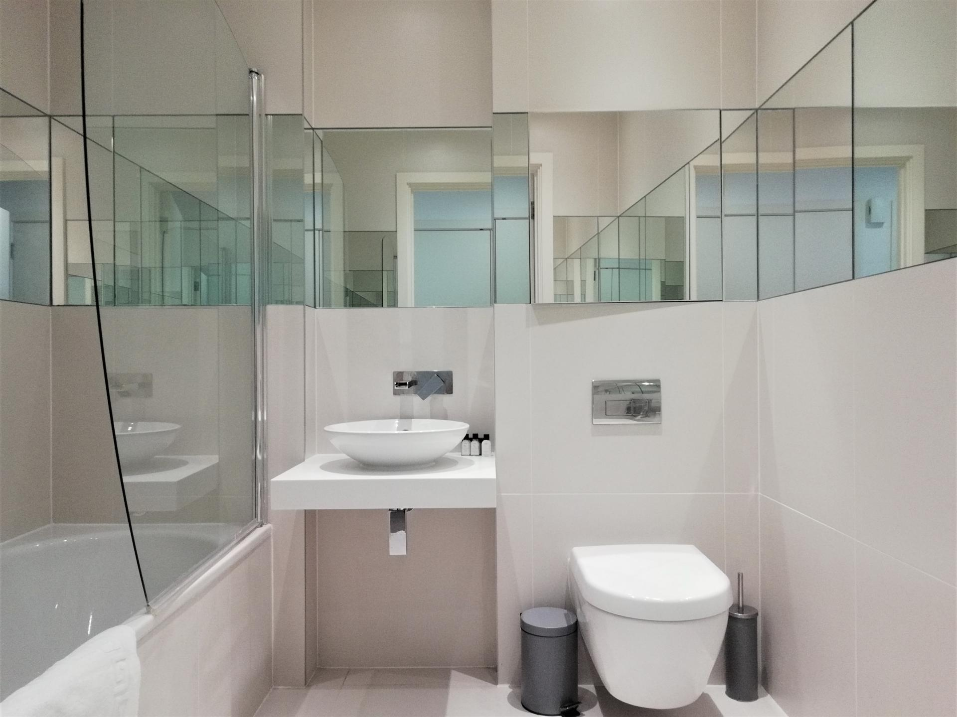 Bathroom at Still Life Clerkenwell Deluxe - Citybase Apartments
