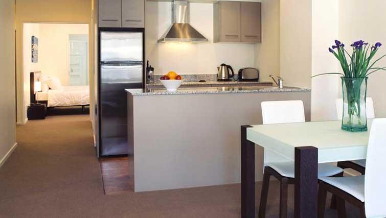 Kitchen at Quest on Lambton - Citybase Apartments
