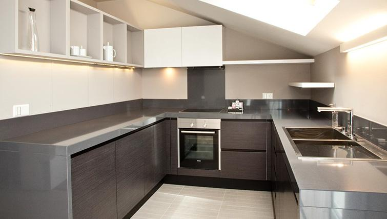 Kitchen at Four Stars Aparthotel - Citybase Apartments
