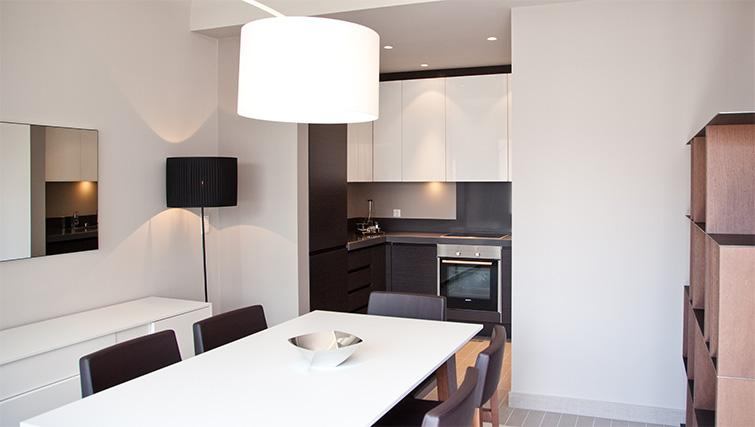 Dining table at Four Stars Aparthotel - Citybase Apartments
