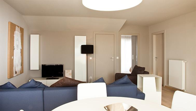 Living space at Four Stars Aparthotel - Citybase Apartments