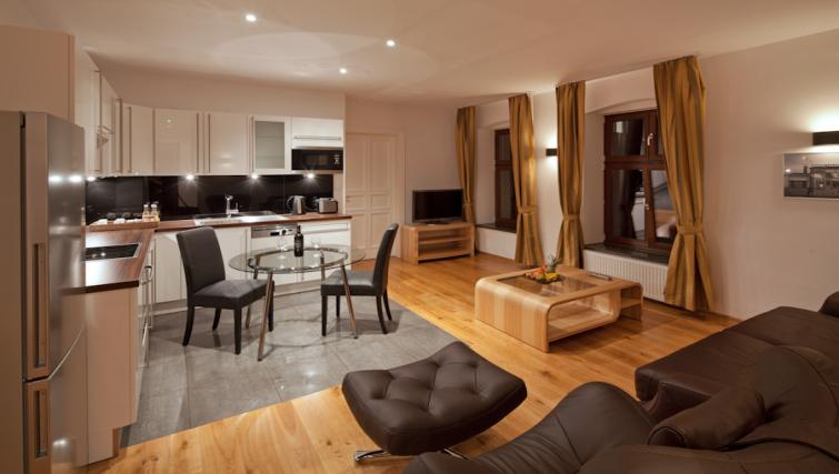 Living area in 1 bed at Luxoise Apartments - Citybase Apartments