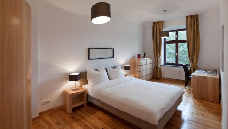 Bed in 2 bed at Luxoise Apartments - Citybase Apartments