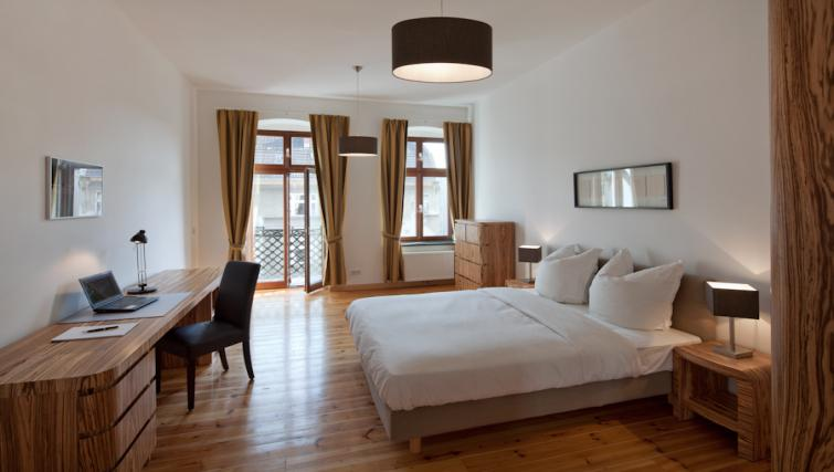 Bedroom in 3 bed at Luxoise Apartments - Citybase Apartments
