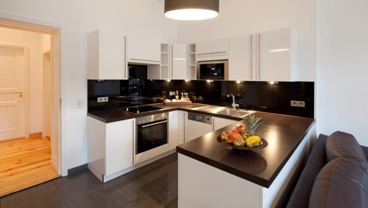 Kitchen in 3 bed at Luxoise Apartments - Citybase Apartments