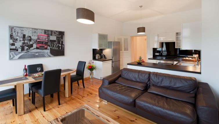 Living room in 3 bed at Luxoise Apartments - Citybase Apartments