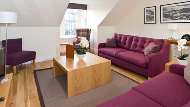 Sofas at Princes Street Residence - Citybase Apartments