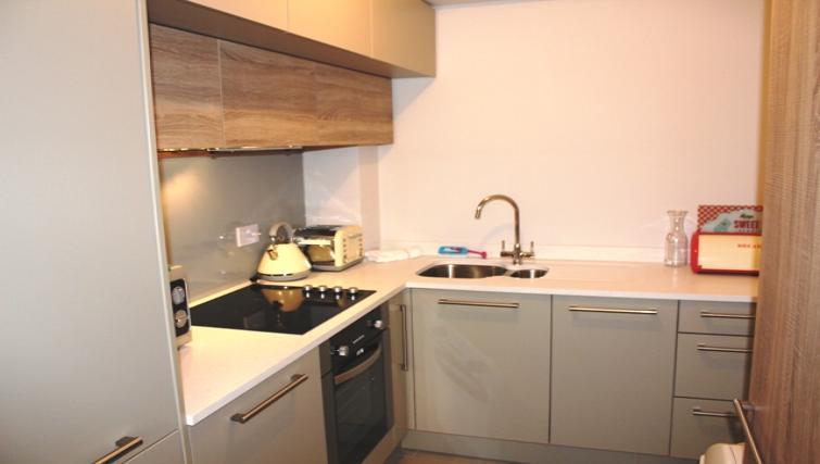 Kitchen at Herbert Park Apartment - Citybase Apartments