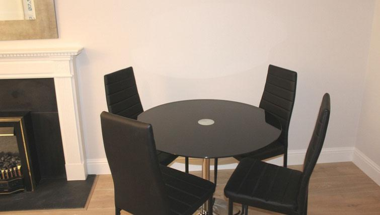 Dining area at Herbert Park Apartment - Citybase Apartments