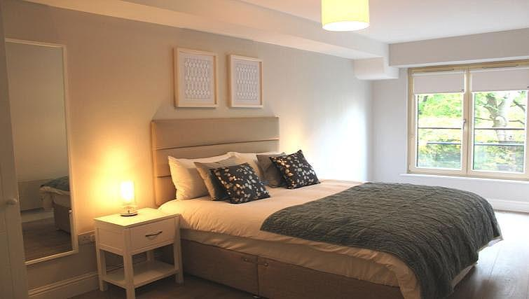 Bedroom at Herbert Park Apartment - Citybase Apartments