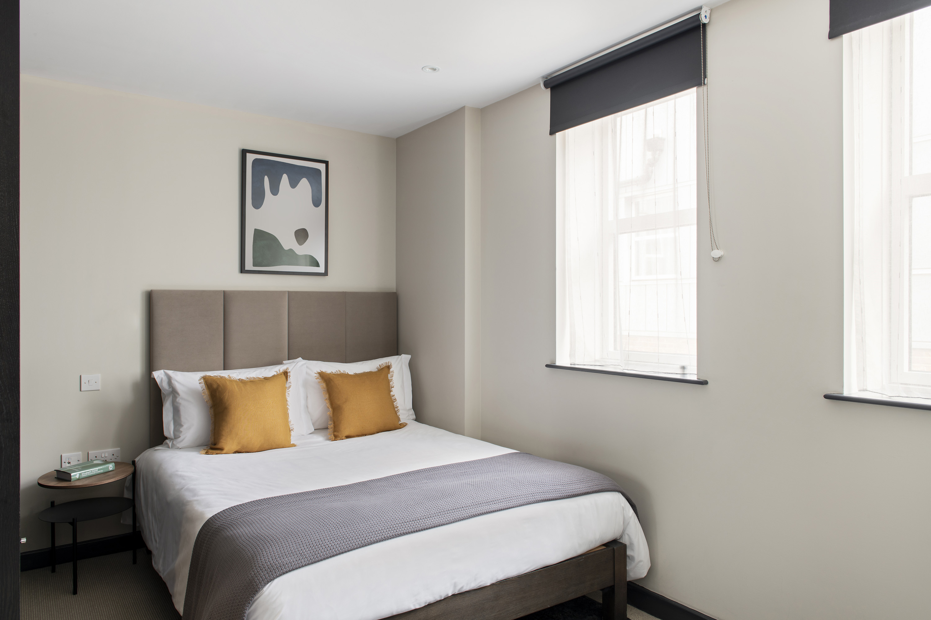 Bedroom at COVE Cannon Street, Mansion House, London - Citybase Apartments