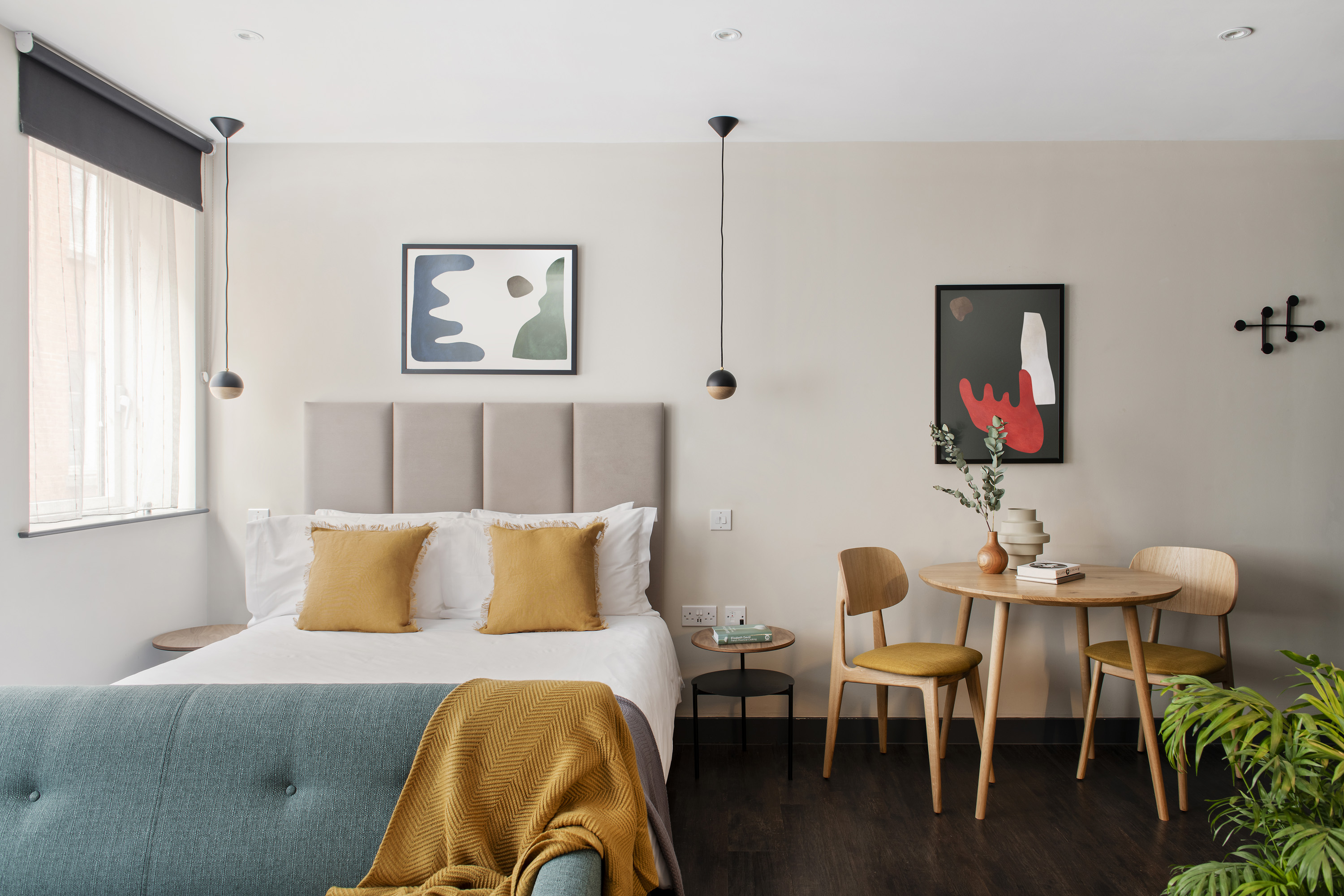Bed at COVE Cannon Street, Mansion House, London - Citybase Apartments