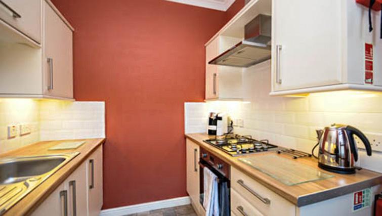 Kitchen at Dumyat Apartment - Citybase Apartments