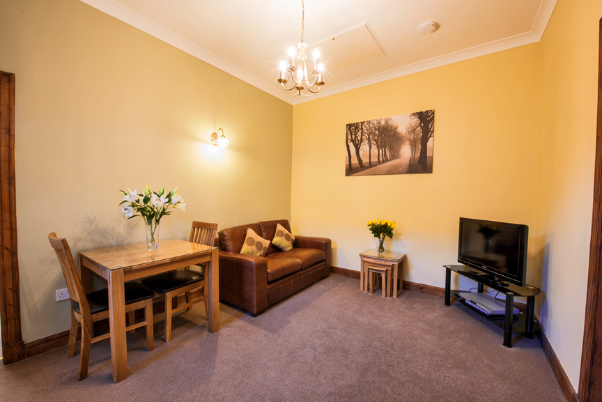Living room at Dumyat Apartment - Citybase Apartments