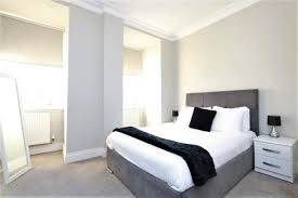 Light bedroom at Saint Vincent Street Apartments, Centre, Glasgow - Citybase Apartments
