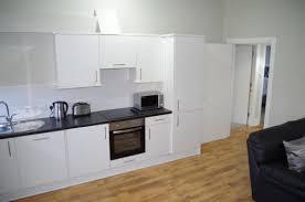 Modern kitchen at Saint Vincent Street Apartments, Centre, Glasgow - Citybase Apartments