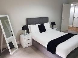 Double bed at Saint Vincent Street Apartments, Centre, Glasgow - Citybase Apartments
