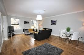 Expansive living area at Saint Vincent Street Apartments, Centre, Glasgow - Citybase Apartments