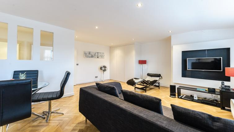 Living area at 43-49 Chiltern Street Apartments - Citybase Apartments