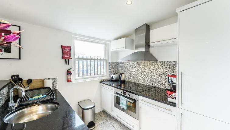 Kitchen at 43-49 Chiltern Street Apartments - Citybase Apartments