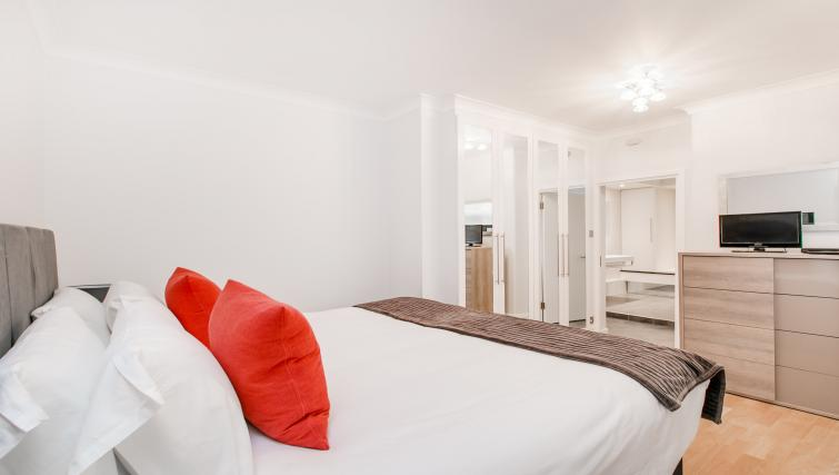 Bedroom view at 43-49 Chiltern Street Apartments - Citybase Apartments