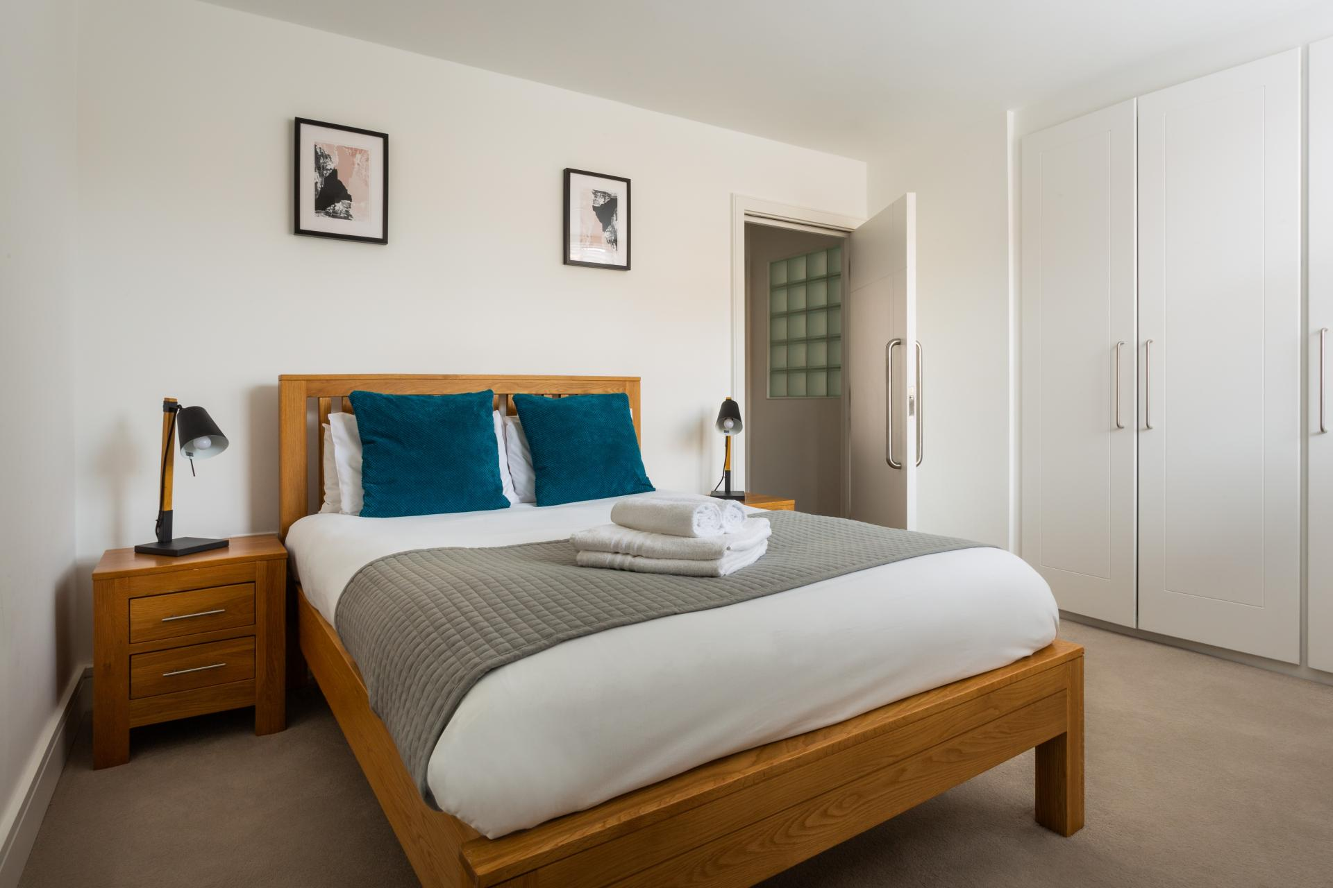 Bedroom at Flying Butler Vincent Square Apartments, Victoria, London - Citybase Apartments