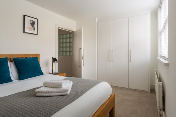 Bed at Flying Butler Vincent Square Apartments, Victoria, London - Citybase Apartments