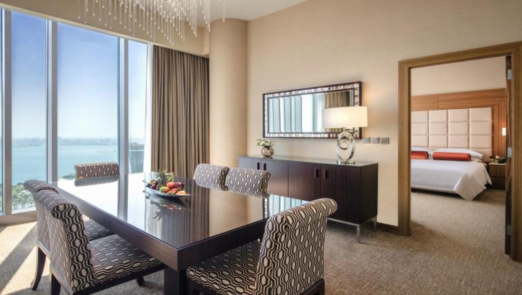 Dining space at City Centre Rotana Apartments - Citybase Apartments
