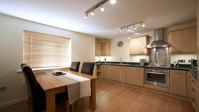 Kitchen at Southwich House Apartments - Citybase Apartments