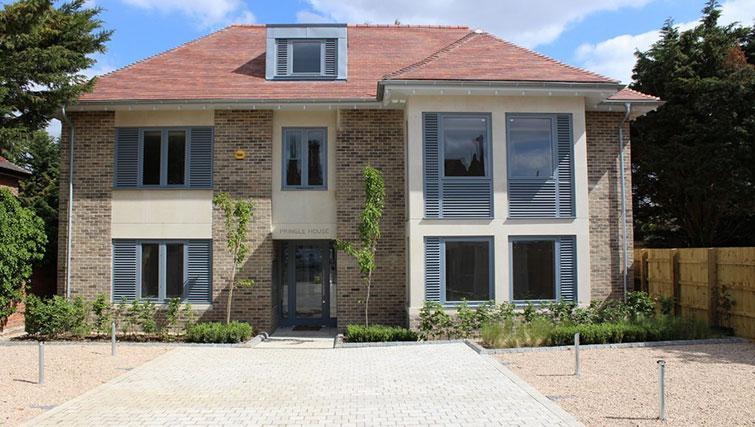 Exterior of Pringle House Apartments - Citybase Apartments