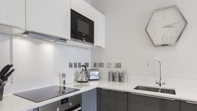 Kitchen facilities at the Vesta Apartments - Citybase Apartments