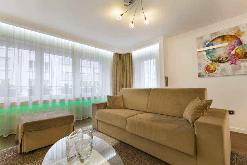 Sofa at Villa Vinicia Apartments - Citybase Apartments