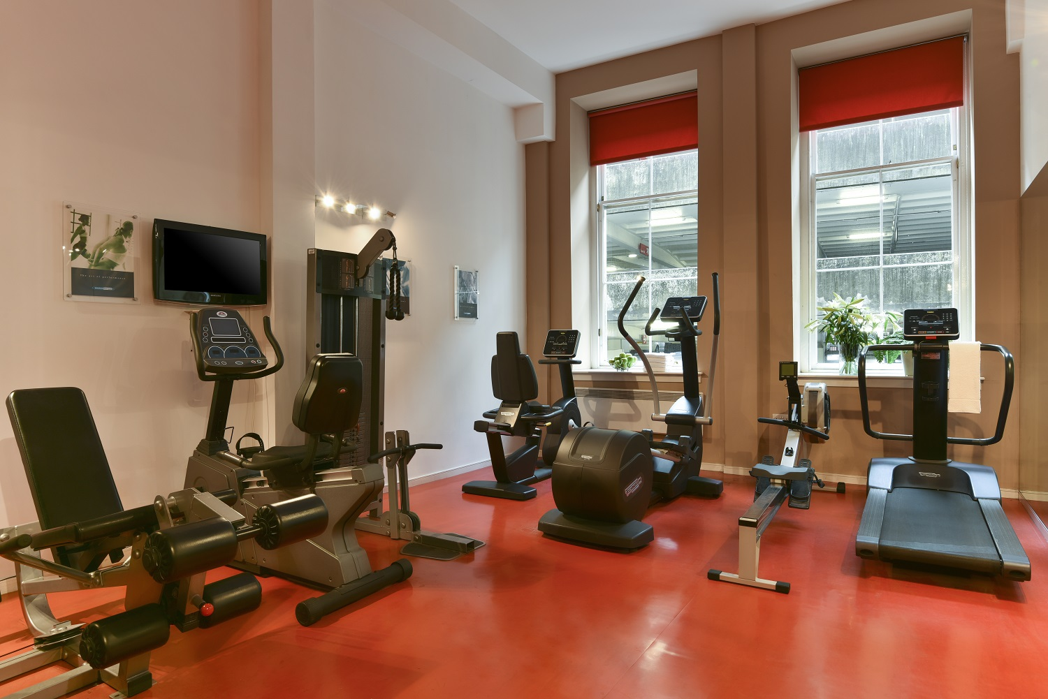 Gym at Fraser Suites Glasgow - Citybase Apartments