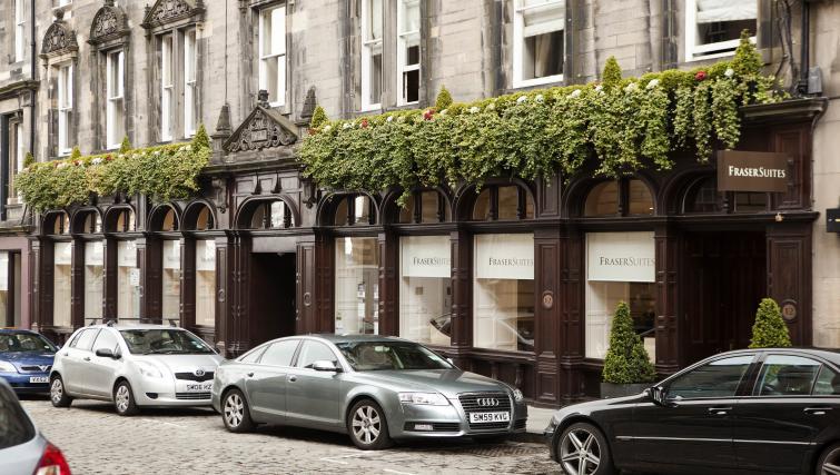 Building at Fraser Suites Edinburgh - Citybase Apartments