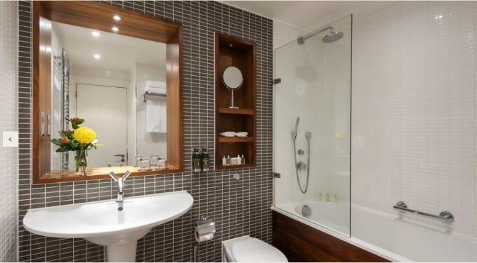 Bathroom at Fraser Suites Edinburgh - Citybase Apartments