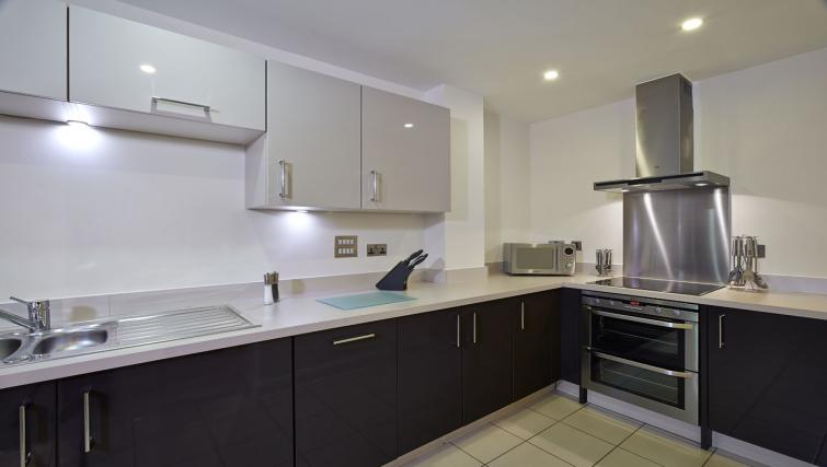 Kitchen at Guild House Apartments - Citybase Apartments