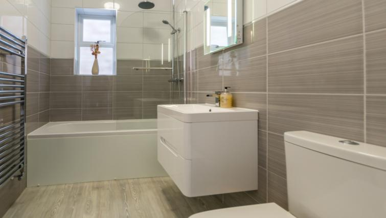 Bathroom at The Blue Bridge Apartment - Citybase Apartments