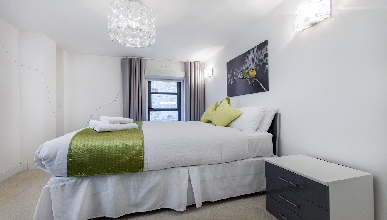 Bed at Mandela Camden Apartment - Citybase Apartments