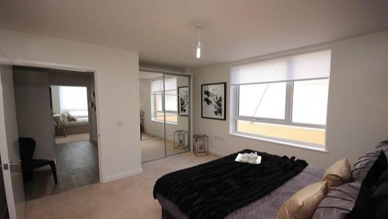 Double bedroom at Hatfield Apartments - Citybase Apartments
