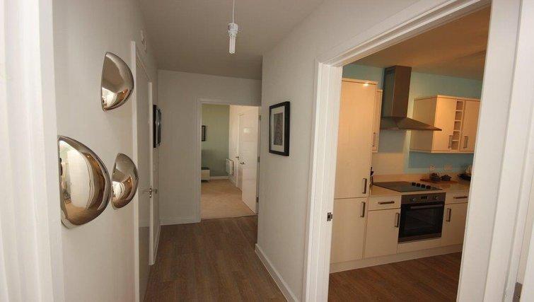 Kitchen at Hatfield Apartments - Citybase Apartments