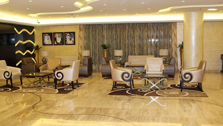 Lobby area at Ivory Grand Hotel Apartments - Citybase Apartments