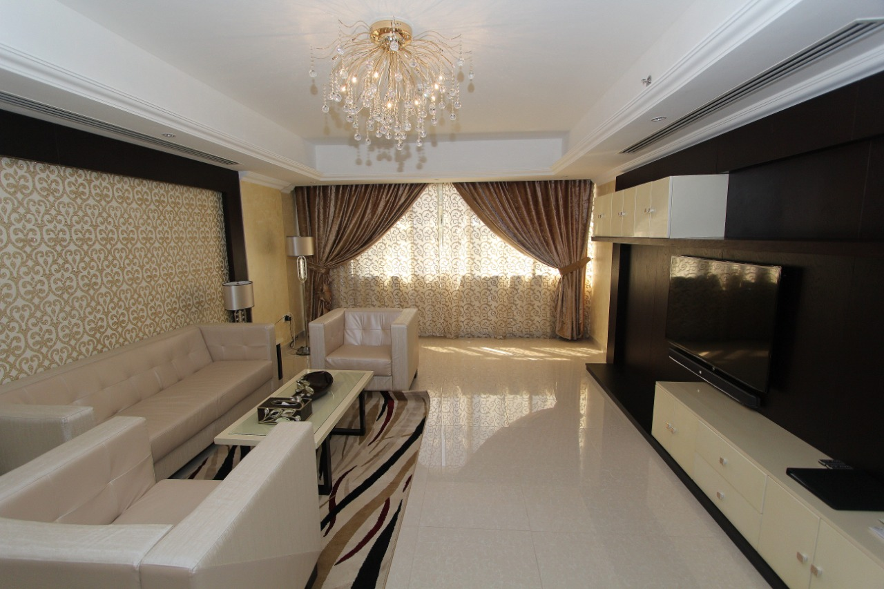 Lounge at Ivory Grand Hotel Apartments - Citybase Apartments