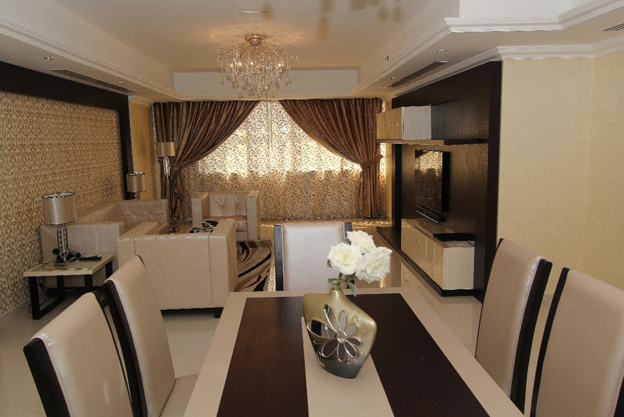 Dining table at Ivory Grand Hotel Apartments - Citybase Apartments