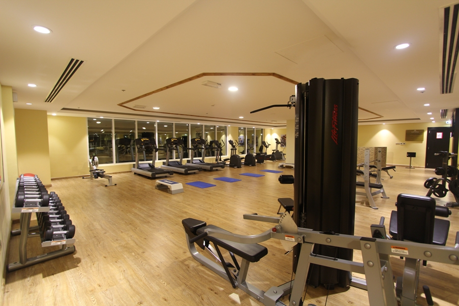 Gym at Ivory Grand Hotel Apartments - Citybase Apartments